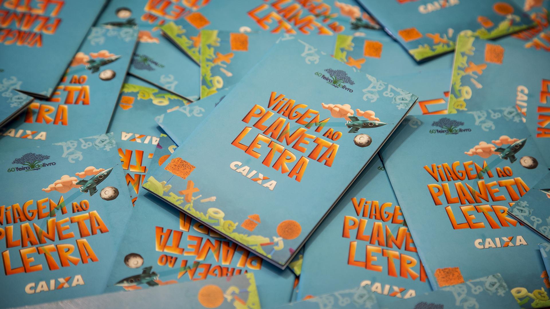 Porto Alegre 2014 – Caixa na Feira do Livro
