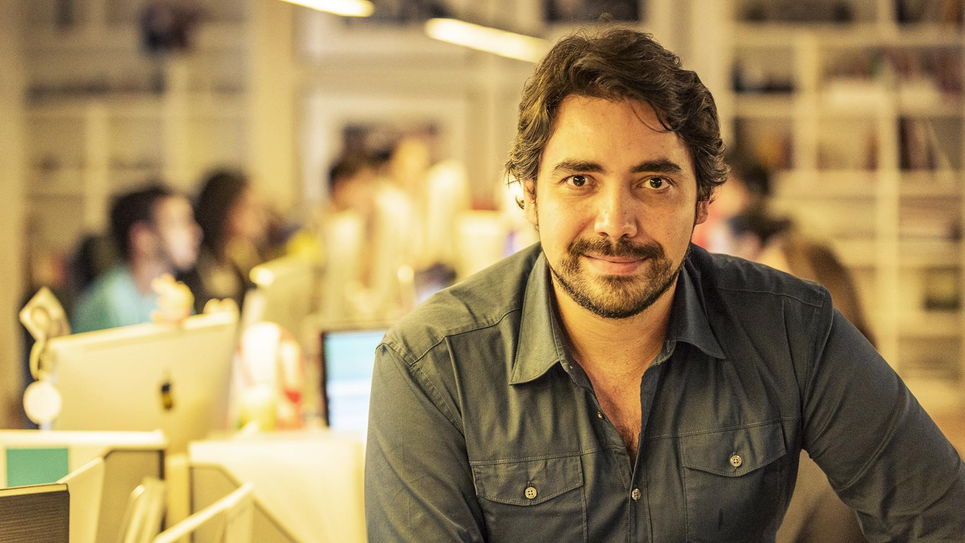 Carlos Grillo – CEO da Fermento e pai do Lucas
